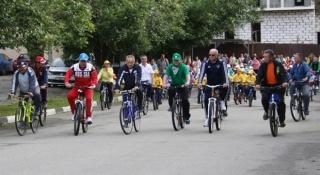 В Дмитрове прошел велопробег с участием Председателя Мособлизбиркома